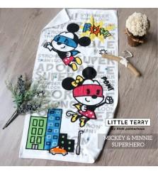 Little Palmerhaus X Disney Little Terry Mickey Minnie Superhero handuk