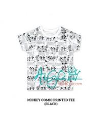 Little Palmerhaus Printed Tee Baju atasan bayi anak Mickey
