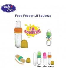 Babysafe Lil Squeeze silicone / food feeder sendok makan bayi