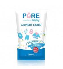 Purebaby Laundry Liquid 900ml sabun cuci baju bayi
