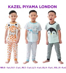 Kazel piyama anak laki laki London Edition