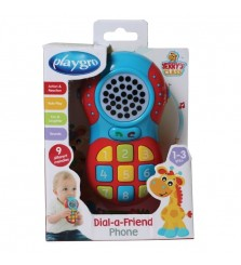 Playgro Dial a friend phone / mainan import / mainan anak