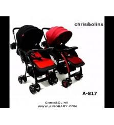 Kereta Dorong Anak Stroller Bayi Chris & Olins