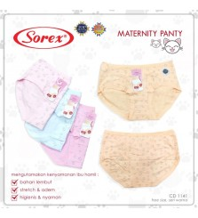 Sorex maternity panty 1141 celana dalam ibu hamil
