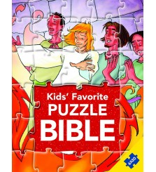 Mainan anak buku puzzle : Kids Favorite Puzzle Bible