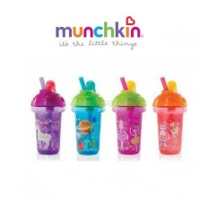 Munchkin Click Lock Decorated Flip Straw Cup