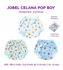 Kazel Jobel celana pop laki laki monster edition