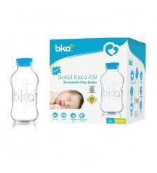BKA Botol kaca asi Breastmilk Glass bottle 100ml