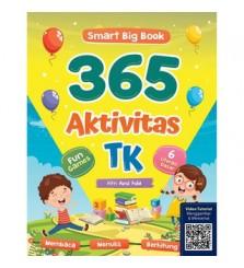 Buku SmartBigBook 365 Aktivitas TK Cikal Aksara membaca menulis hitung