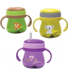 Baby Safe Cup Weighted Straw