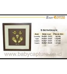 BabyCapture Cetakan Tangan dan Kaki Bayi 5sets grace