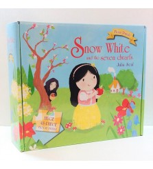 Mainan anak puzzle Snow White and the seven dwarfs Julia Seal