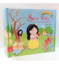 Mainan anak puzzle Snow White and the seven dwarfs Julia Seal