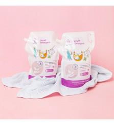 Pureco Liquid Detergent 1450ml refill pack / sabun cuci baju bayi