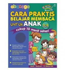 Buku abacaga cara praktis belajar membaca anak 4-6tahun