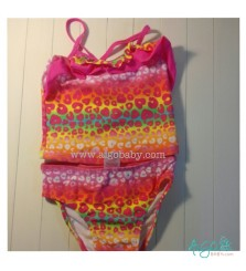 Swimsuit Colorful Pink