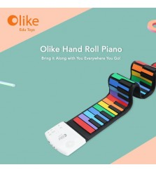 OLIKE Edu Toys Hand Roll Piano
