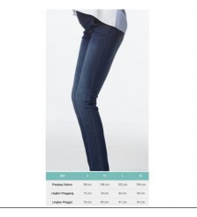 Super Soft skinny maternity jeans