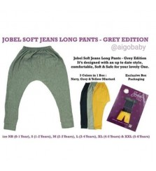 Kazel Jobel Longpants Soft Jeans Grey Edition