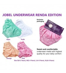 Jobel Girl Underwear Renda