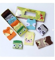 Kaos Kaki Happy Baby Woodland