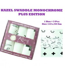 "Kazel Swaddle ""Monochrome Plus"" (Bedongan)"