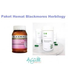 Paket Blackmores 180 + Herbilogy Breastfeeding Capsule