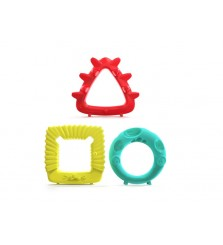 Mombella Educational Geometry Animal Teether