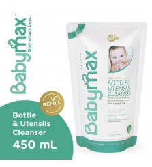 Sabun cuci botol bayi BabyMax Bottle and utensils cleanser 450ml refil