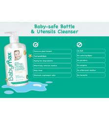 sabun cuci botol bayi Babymax bottles and utensils cleanser 500ml