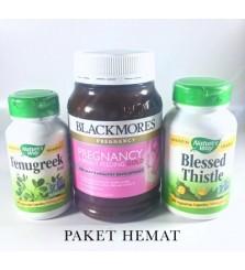Paket Hemat Booster ASI Blessed Fenugreek Blackmores