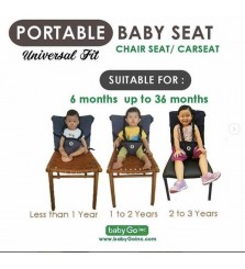 Portable Baby Seat Carseat/Chairseat