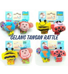 Gelang Rattle Love Mom 1 set