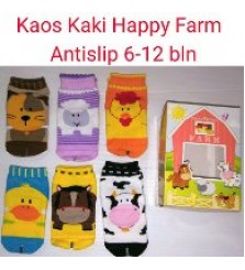 Kaos Kaki Anak Happy Baby Farm