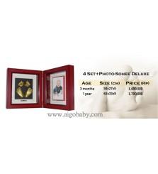 BabyCapture Cetakan Tangan dan Kaki Bayi 4set+photo+sohee+deluxe 3 month