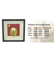 BabyCapture Cetakan Tangan dan Kaki Bayi  Pantat & Titi Shangmi 3 month