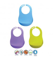 Baby Safe Foldable Bib 3+m