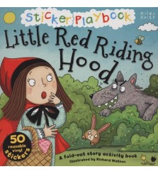 Sticker Playbook  : Little Red Riding Hood