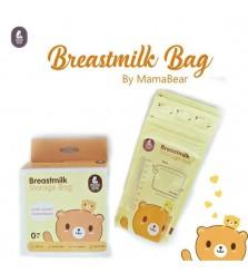 Mamabear Breastmilk storage kantong asi 200ml isi 30pcs plastik asi