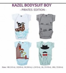 Kazel Bodysuit Boy : Pirates Edition